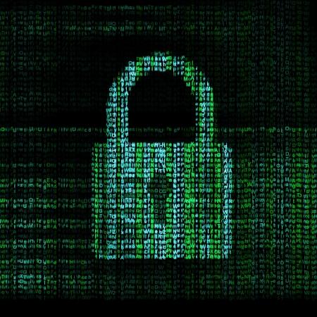 Photo pour encrypted digital lock - image libre de droit