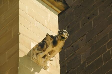 gargoyle at Saint-Antoine l Abbaye