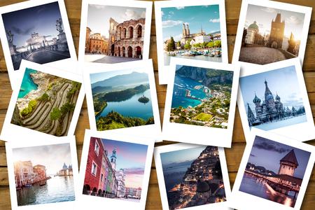 Foto de Bucket list destinations - Imagen libre de derechos