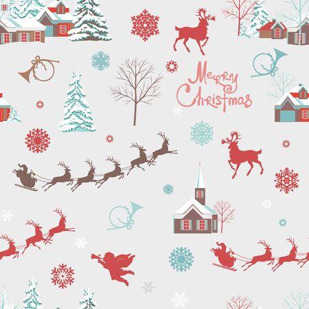 Photo pour Background marry christmas decorative - image libre de droit