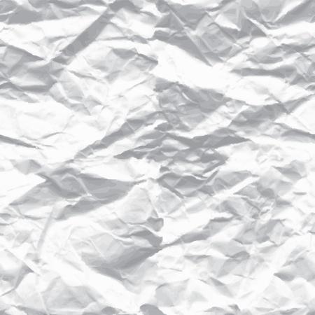 Illustration pour wrinkled paper - image libre de droit