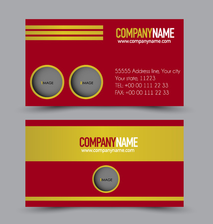 Card Set Template For Business Ideny