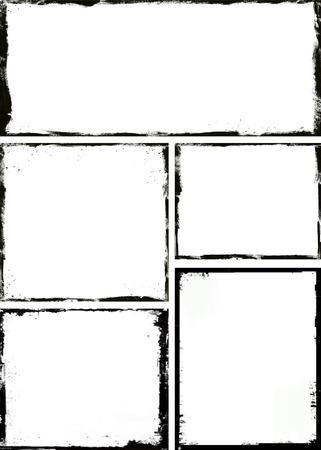 Photo pour Grunge frame - image libre de droit