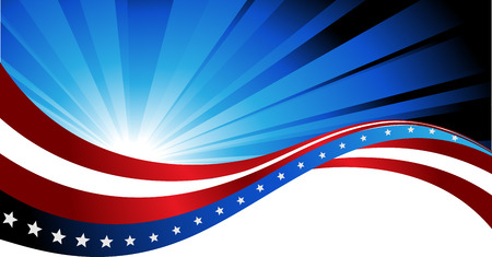 abstract background of the American flag,symbol united