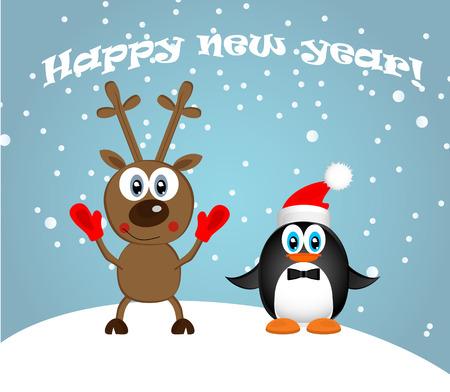 Ilustración de  Happy New Year - Imagen libre de derechos