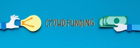 Crowdsoursing resource. Easy to buy ready idea and get money online, panorama
