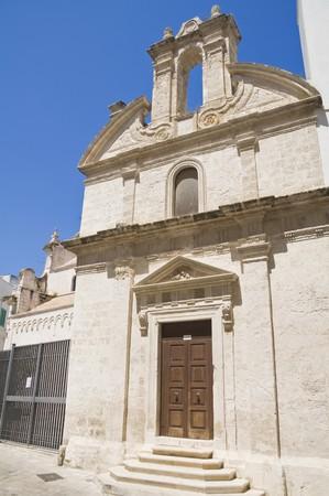 St. Joseph Church. Monopoli. Apulia.