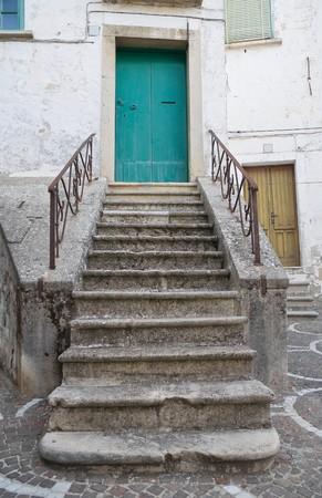 Typical house. Bovino. Foggia. Apulia.