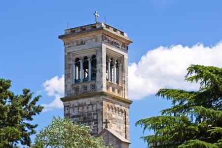 Madonna della Scala Abbey. Noci. Puglia. Italy.