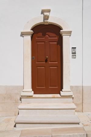 Wooden door   Monte SantAngelo  Puglia  Italy