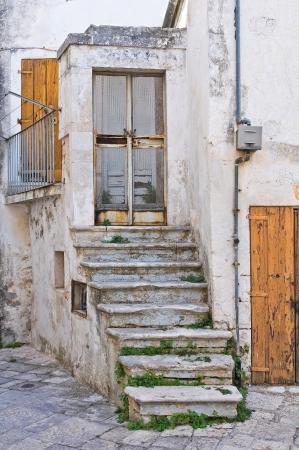 Alleyway. Noci. Puglia. Italy.