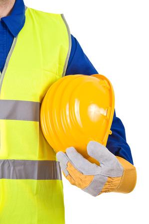 Blue collar worker