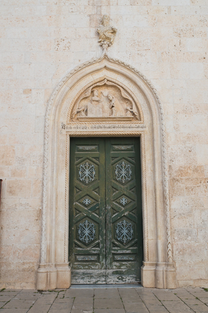 Mother church of Noci. Puglia. Italy.