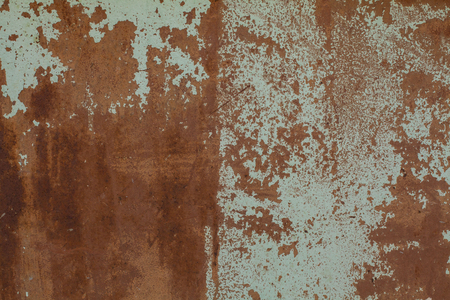 Photo pour Old Rust textures wall with paint. Perfect background with space. - image libre de droit