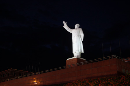 Mao Zedong sculpture