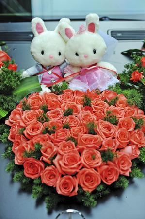 Photo pour Valentine \ 's Day flowers - image libre de droit