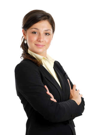 This is an image of a confident business woman.