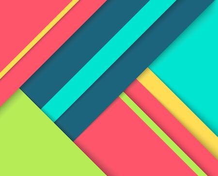 Vektor für Abstract background with colorful layers. - Lizenzfreies Bild