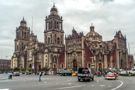 Mexico City Metropolitan Cathedral  Mexico D F