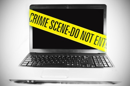 Photo for Computer crime  - Royalty Free Image