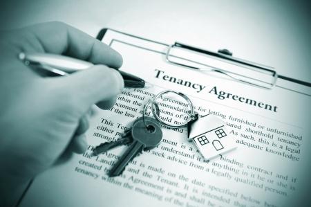 Photo pour Tenancy agreement - image libre de droit