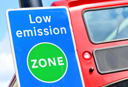 Photo for Low emission zone - Royalty Free Image