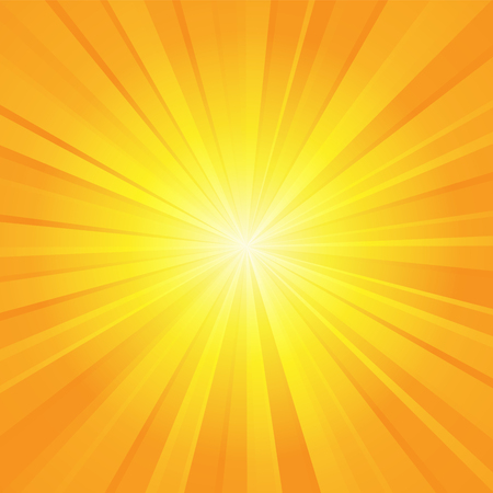 orange yellow ray background
