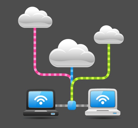 Communication with Cloud computing