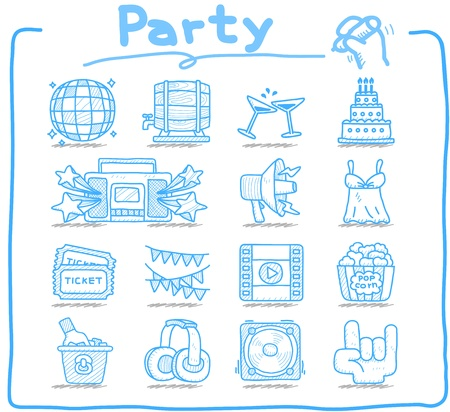 Pure Series - Party,Celebration,Holiday icon set