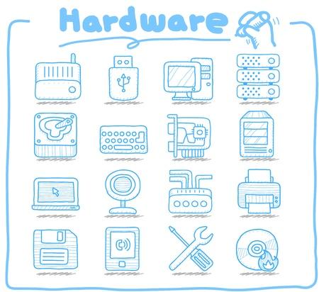 Pure Series   Hareware ,Business,Internet icon set