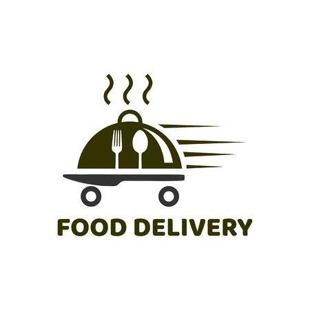 Ilustración de Food Delivery logo - Imagen libre de derechos
