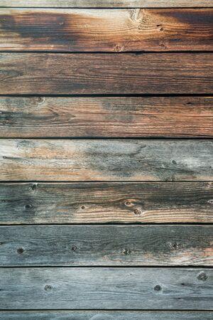 Photo pour Old weathered wood planks. Vintage texture Background. - image libre de droit