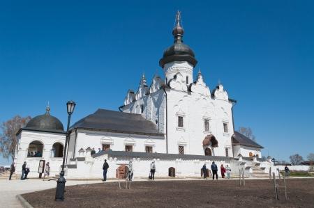 Uspensky Cathedral of Sviazhsky Uspensky Monastery ( XVI-XVIII). Sviyazhsk island. Russia