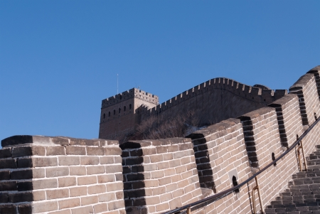 Great Wall of China  Badaling near Beijing