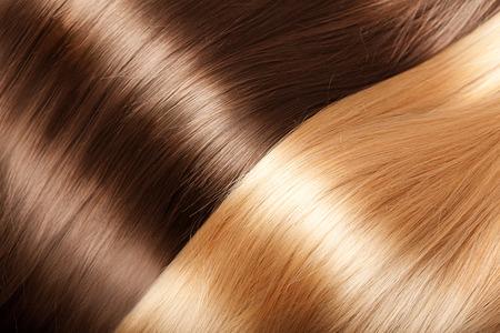 Photo pour Shiny texture luxurious hair - image libre de droit