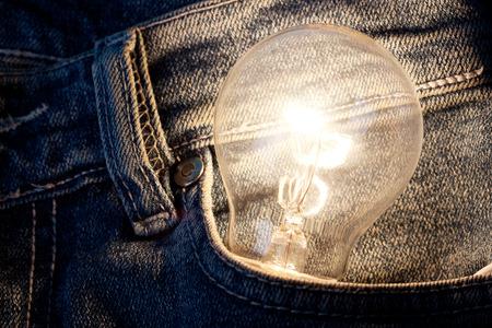 Lamp. Concept start up idea design. Background business creative conceptual image about success