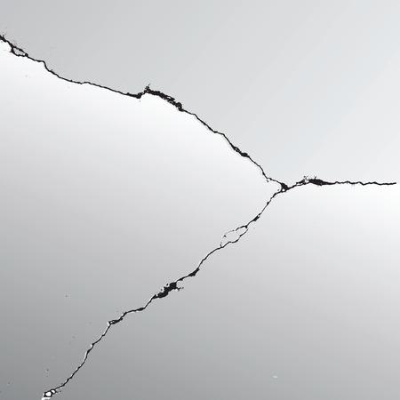 crack vector earthquake background earth