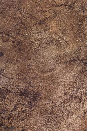brown rust metal background