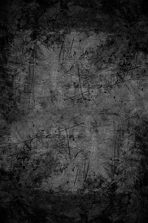 Foto de black abstract background or scratched metal texture - Imagen libre de derechos