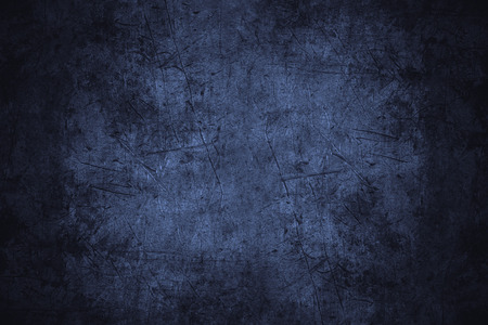 Foto de navy blue scratched metal texture or rough pattern iron background - Imagen libre de derechos