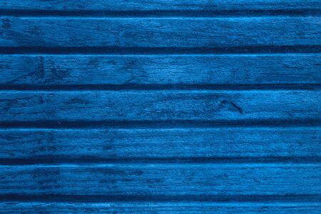 Foto de blue planks background or natural wooden boards texture - Imagen libre de derechos