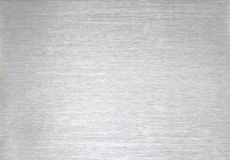 Photo pour brushed steel background sheet of metal - image libre de droit