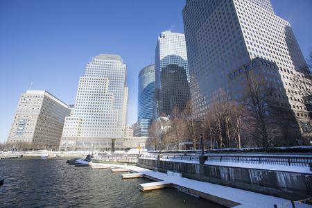 NEW YORK CITY - January 03: The construction of NYC