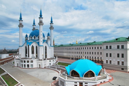 Russia. City of Kazan. The Kul Sharif mosque