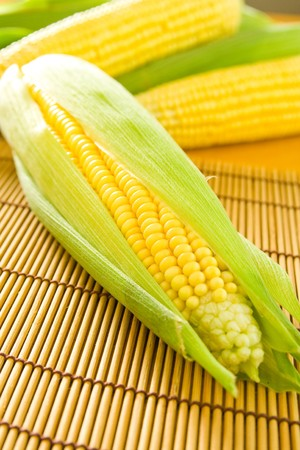 Foto für Freshly grown and tasty corn on the cob. - Lizenzfreies Bild