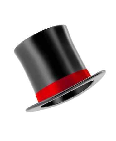 Foto de magic hat isolated on white background - Imagen libre de derechos