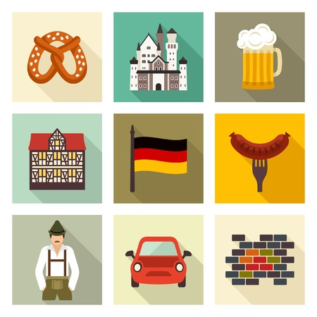 Germany icons