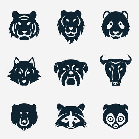Ilustración de animal face - Imagen libre de derechos
