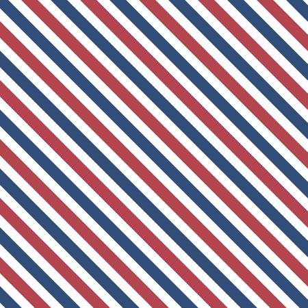 Illustration pour Abstract line pattern in barber colors background - image libre de droit