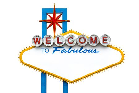 Photo for Welcome to fabulous Las Vegas sign - empty - Royalty Free Image